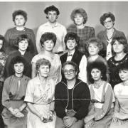 Август 1987 г. Группа 1161 с деканом А.М. Горцевым.