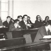1975 год. На фото: Горцев А.М., Терпугов А.Ф., Параев Ю.И.