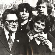 1977 г. Трудовые будни. На фото: Горцев А.М.