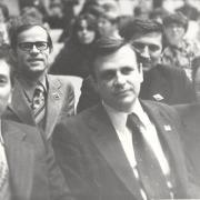 1980 г. На фото: Медведев Г.А., Рыжаков А.П., Горцев А.М.