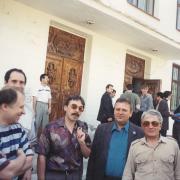 На фото: Рыжаков А.П., Горцев А.М.